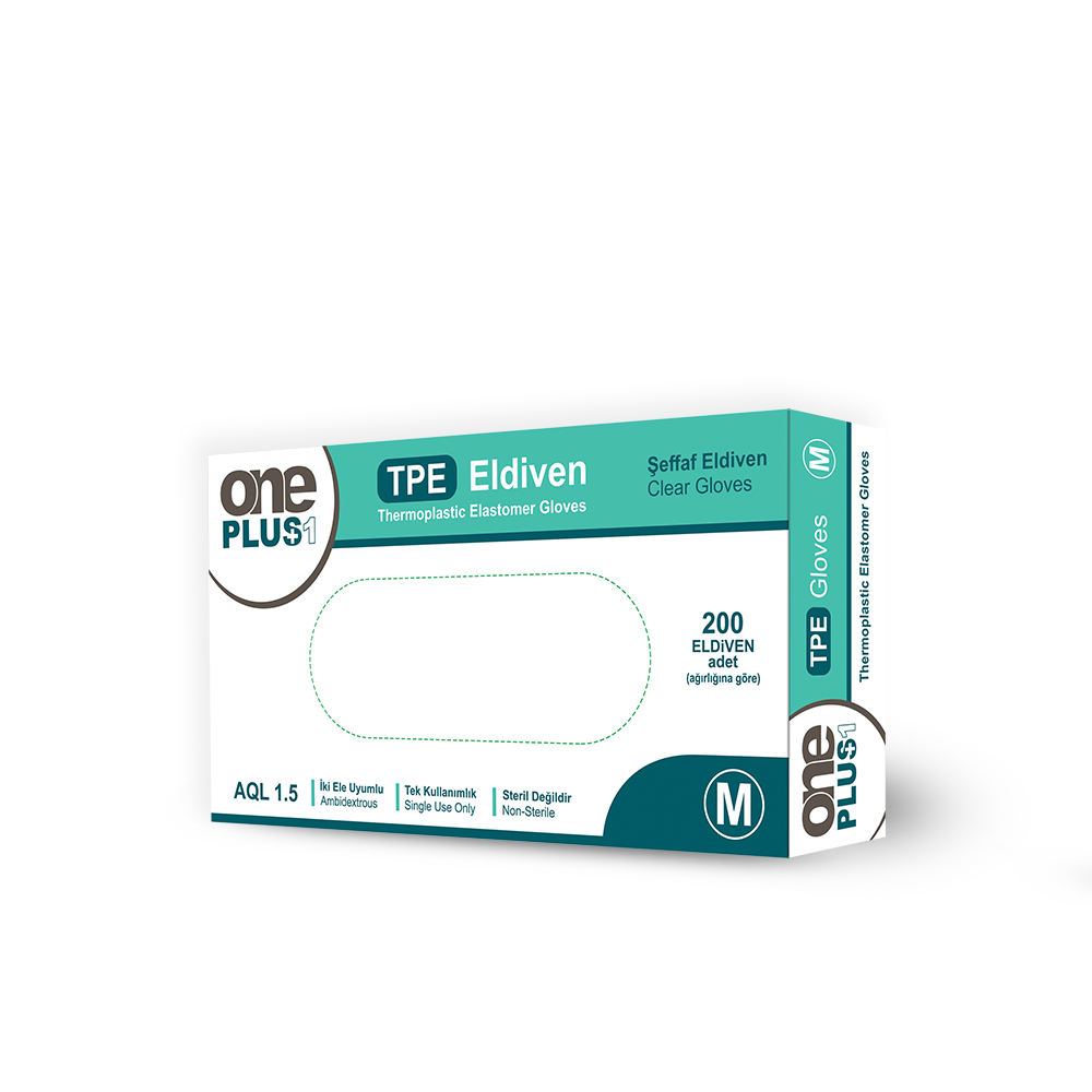 Thermoplastic Elastomer Eldiveni 200'lü - OnePlus Ambalaj